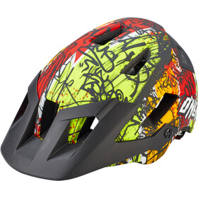 O'Neal Defender 2.0 Casco, vandal orange/neon yellow